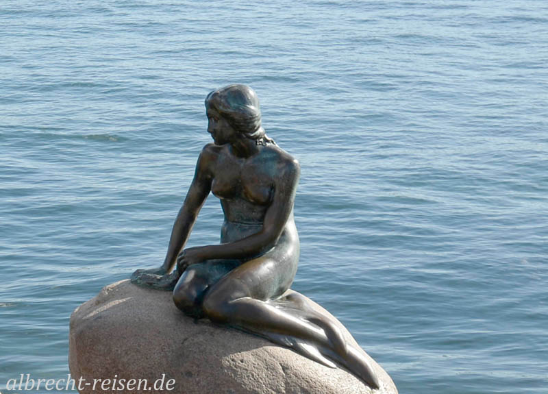 Kopenhagen, die kleine Meerjungfrau