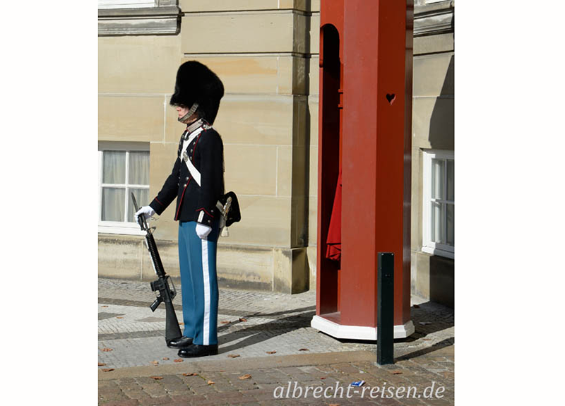 Wache, Schloss Amalienborg