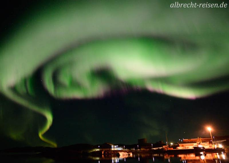 Polarlichter vor Narsaq