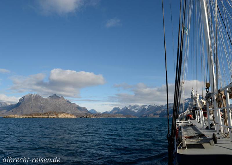 Unterwegs zum Gletscher
