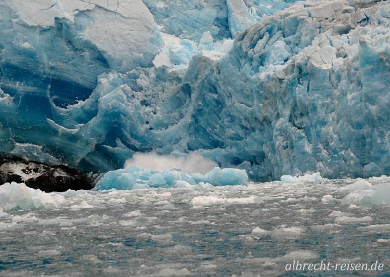 Abbruch am Ilordlersuaq Gletscher