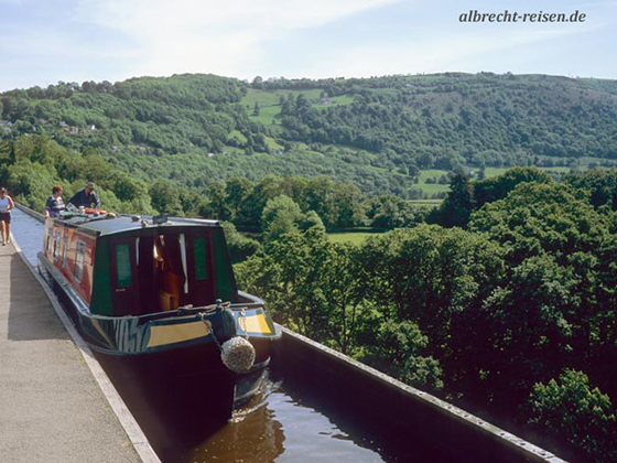 Bild des Monats: Mai 2018 - Mit dem Hausboot durch Wales