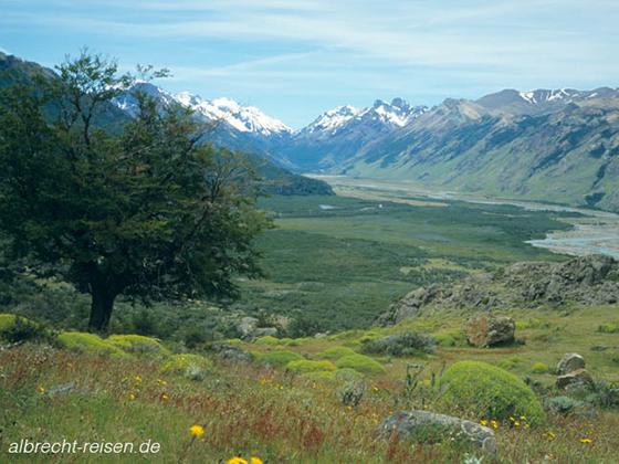Bild des Monats: Juli 2018 - Wandern in Patagonien